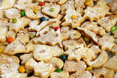 Christmas cookies. Ginger pastry, the sweet Christmas cookies Stock Image