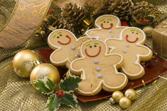 Christmas cookies. Royalty Free Stock Image