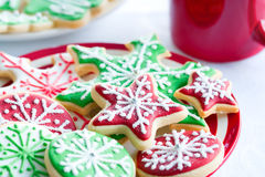 Free Christmas Cookies Royalty Free Stock Image - 17120796