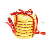 Christmas cookies. On a white background Stock Photo