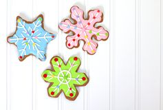 Christmas cookies Royalty Free Stock Images