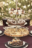 Christmas cookies. Catering table at christmastime Stock Photos