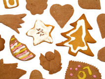 Christmas Cookies. Background Royalty Free Stock Photo