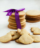 Christmas cookies. On the table Royalty Free Stock Photography
