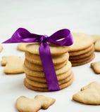 Christmas cookies. On the table Stock Photo