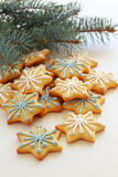 Christmas cookies. Stock Photography