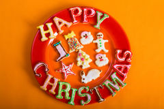 Christmas cookies 3 Royalty Free Stock Images