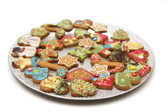 Free Christmas Cookies Royalty Free Stock Photos - 31696268