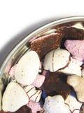 Christmas cookies 6. Christmas cookies in the metallic box royalty free stock photos