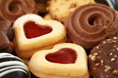 Christmas cookies. Mixed selection of christmas cookies Stock Photo