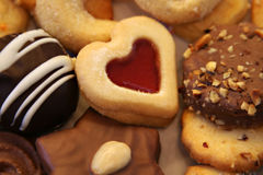 Christmas cookies. Mixed selection of christmas cookies Royalty Free Stock Images
