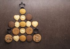 Free Christmas Cookies And Biscuits Royalty Free Stock Images - 203379219