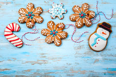 Christmas Cookies Stock Photography