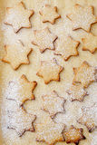 Christmas cookies background Stock Photography