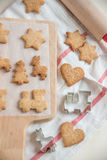 Christmas Cookies for children Royalty Free Stock Image