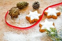 Christmas cookies royalty free stock photography