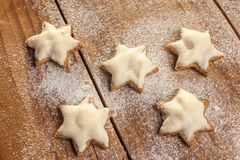 Christmas Cookies (Cinnamon) Stock Image
