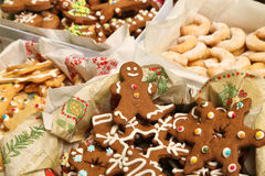 Christmas cookies collection Stock Images