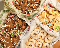 Christmas cookies collection Royalty Free Stock Image