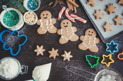 Christmas Cookies Concept Royalty Free Stock Photos