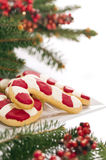 Christmas cookies decorated Stock Images