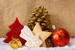 Christmas cookies . Royalty Free Stock Photo