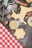 Christmas cookies Royalty Free Stock Photos