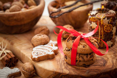 Christmas cookies and gingerbread Royalty Free Stock Image