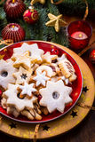 Christmas cookies and gingerbread Stock Images