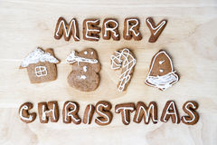 Christmas cookies. Happy New Year Stock Photography