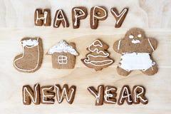 Christmas cookies. Happy New Year Stock Image