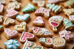 christmas cookies homemade Στοκ εικόνα με δικαίωμα ελεύθερης χρήσης