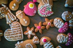 christmas cookies homemade Στοκ εικόνες με δικαίωμα ελεύθερης χρήσης