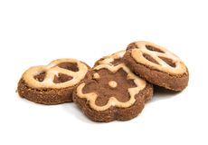 Christmas cookies isolated Stock Image