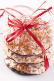 Christmas cookies lebkuchen Royalty Free Stock Photography