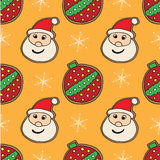 Christmas cookies pattern 10 Royalty Free Stock Photography