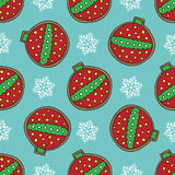 Christmas cookies pattern 9 Royalty Free Stock Image