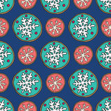 Christmas cookies pattern 7 Stock Image