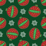 Christmas cookies pattern 8 Royalty Free Stock Photography