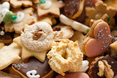 Christmas Cookies. Pile of homemade Christmas Cookies Stock Photography