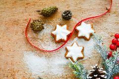 Christmas cookies. 