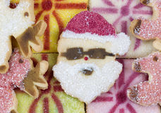 Christmas Cookies for the Season Royalty Free Stock Images