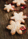 Christmas cookies. Selective focus Stock Image