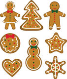 Christmas cookies set Stock Image