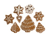 Christmas cookies. Studio Stock Photography