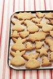 Christmas Cookies On Tray Royalty Free Stock Photography
