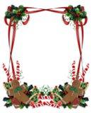 Christmas Cookies and treats Border royalty free illustration