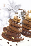 Christmas cookies tree Stock Images