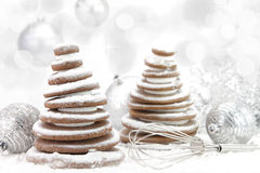 Christmas cookies tree Royalty Free Stock Photo