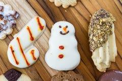 Christmas cookies Stock Photo